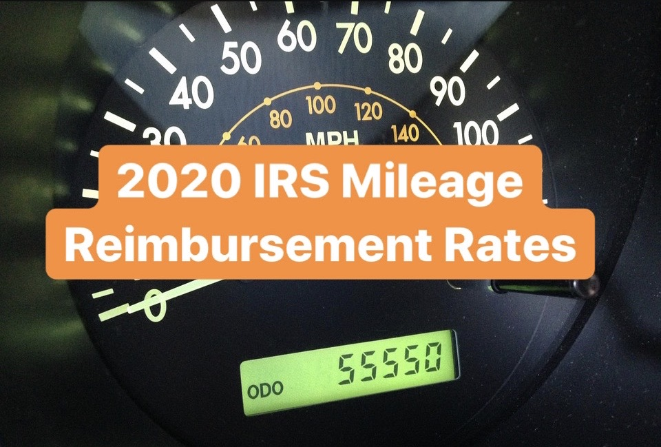 2020 irs mileage reimbursement rates